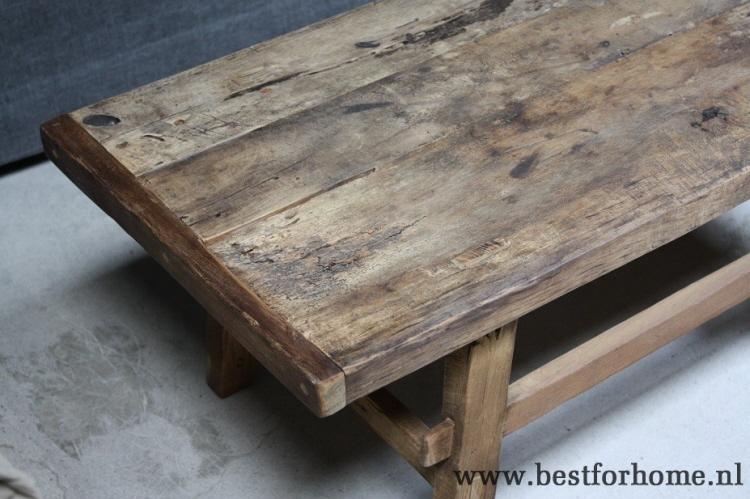 hout tafel 2 planken